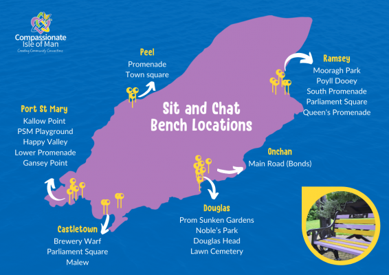 Sit and Chat Bench Locations